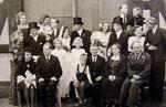 Hochzeit meiner Eltern 1947