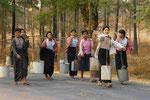 Palmsafttransport in Myanmar