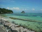 Strand nahe Anse Royale, Mahe, Seychellen
