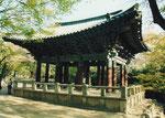 Glocke im Kloster Pulguk-sa, Kyongju, Südkorea