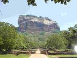 Der Felsen von Sigiriya, Sri Lanka