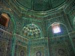 In der Totenstadt von Samarkand, Usbekistan