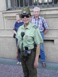 Polizistin in Santiago de Chile