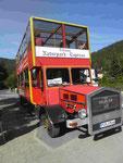 Alter Bus auf der Strecke Zittau-Oybin