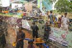 Wasserfest in Myanmar
