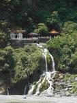 Tempel des ewigen Frühling in der Taroko-Schlucht, Taiwan