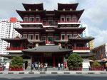 Buddhistischer Tempel in Singapur