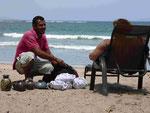 Strandverkäufer in Tamarindo, Costa Rica
