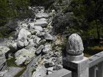 Marmor in der Taroko-Schlucht, Taiwan
