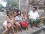 Die Kinder des Tempelwächters, Bali, Indonesien