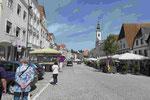Markplatz von Steyr in Oberösterreich
