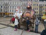 Kinder in Kiew/Ukraine