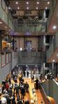 Treppenhaus, Barenboim Said Akademie, Pierre-Boulez- Saal von Frank O. Gehry, Berlin-Mitte