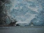 Gletscher am Beagle-Kanal, Feuerland, Chile