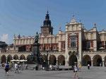 Tuchhallen auf dem Krakauer Marktplatz, Polen