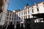 Der  Innenhof des Celler Schlosses