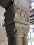 Kreuzgangskapitell im ehemaligen Kloster unserer lieben Frauen in Magdeburg