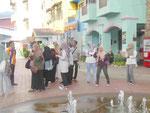 Muslimische Mädchen auf Langkawi, Malaysia