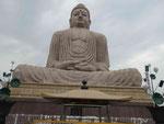 Großer Buddha der Japaner in Bodhgaya (Indien), eingeweiht von S.H. dem Dalai Lama