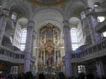 Dresden, Frauenkirche - Innenraum