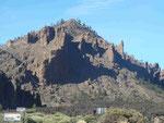 In der Caldera am Teide, Teneriffa, Spanien