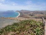 Blick auf Porto Santo, Portugal