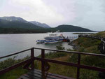Ausflugsboot am Beaglekanal, Argentinien
