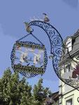 Zunft- und Restaurantzeichen im Elsaß