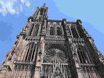 Straßburger Münster, Westfassade