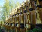 Bodhisattvas im Fo Guang Shan Kloster nahe Kaoshung, Taiwan