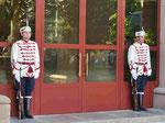 Präsidentenwache in Sofia, Bulgarien