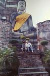 Wat Lokayasutha, Ayutthaya, Thailand