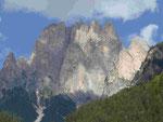 Dolomitengipfel. Südtirol