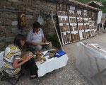 Ikonenmaler in Abanassi, Bulgarien