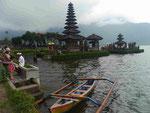 Ulun Danu Tempel auf Bali, Indonesien