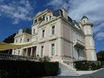 Schloss in Ste. Maxime, Frankreich