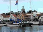 Die Altstadt von Stavanger, Norwegen