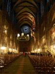 Straßburger Münster, Kirchenschiff mit schwebender Kanzel