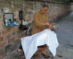 Friseurladen in Hanoi/Vietnam
