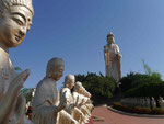 "Buddha-Statue im ""Land des großen Buddha"", Fo Guang Shan Kloster, Taiwan"