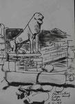 Naxischer Löwe auf Delos, Kykladen