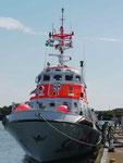 Seenotrettungskreuzer Alfried Krupp auf Borkum