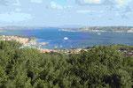 Costa Smeralda, die Fähren nach La Maddalena; Sardinien/Italien