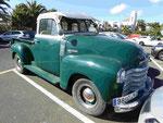 Chevrolet-Kleinlaster, gesehen auf Lanzarote, Spanien