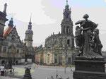 Dresden, Hofkirche und Schloss