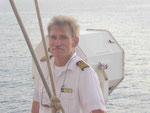 Kapitän Sergej Tunikov auf der Star Clipper