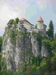 Burg Bled, Slowenien