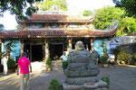 Tempel in den Marmorbergen von Danang, Vietnam
