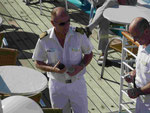 Kapitän der MS Albatros