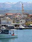 Im Hafen von Chania, Kreta